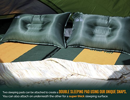 Set, Self-Inflating Camping The Camping Mat is Large and Yet A Must for