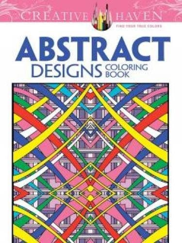 Creative Haven Abstract Designs Coloring Book (Adult Coloring)