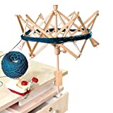Wooden Umbrella Swift Yarn Winder - Knitting