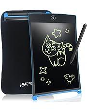NEWYES LCD Schreibtafeln Writing Tablet 8.5 Zoll mit Löschfunktion Schutzhülle Stift Papierlos für Schreiben Malen Notizen