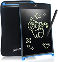 Tableta de Escritura LCD 8.5 Inch NEWYES Gráfica Dibujo Tablero Oficina Touch Pad Magnéticos Pizarra Para la Nevera Memo Pad Electrónico con Lápiz y Funda Para Niños Adulto Oficina Escuela (Azul)