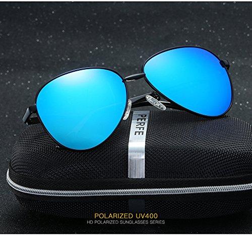 400 UV para Polarizadas Sol De Gafas Hombre para C4 Aviator C3 Mujer Protección HwqvzRzfSn