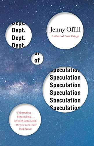 Dept. of Speculation (Vintage Contemporaries) cover