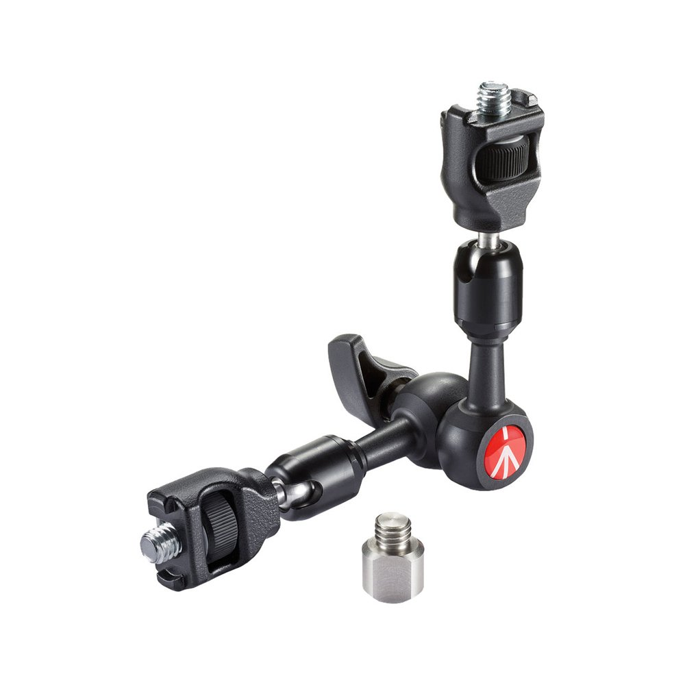 Manfrotto 244MICRO-AR 244 Micro Arm with Anti-Rotation (Black) by Manfrotto