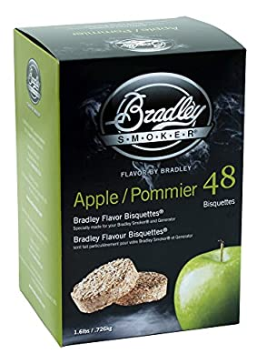 Bradley Apple Bisquettes 48 pack from Bradley Smoker