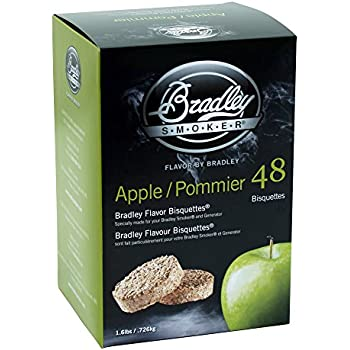 Bradley Smoker BTAP48 Apple Bisquettes 48 pack