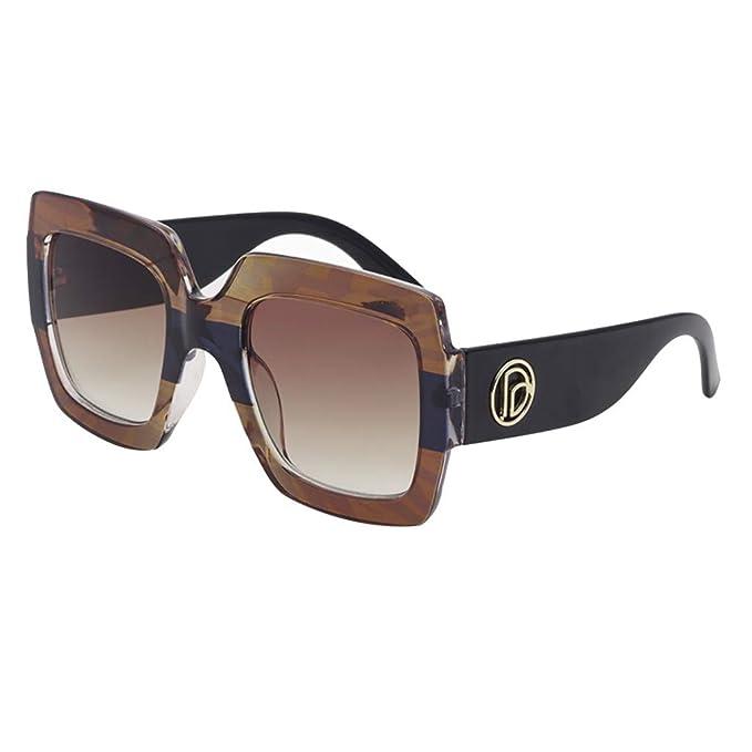 LANSKIRT - Gafas de Sol para Mujer, diseño Retro polarizadas ...