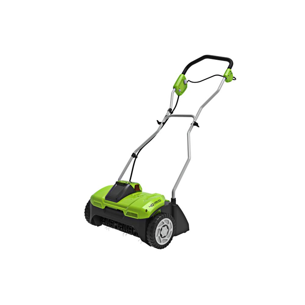 Greenworks 40V 14-Inch Cordless Dethatcher/Scarifier, Battery and Charger Not Included DHF301 by Greenworks