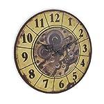 Things2Die4 Steampunk Gear Art Wall Clock 15 in. 6