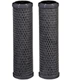 Filtrete Standard Capacity, Carbon Wrap Replacement Filter, Sump Style (Sediment, CTO), 2-Pack