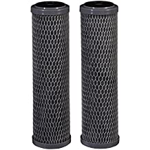 Filtrete Standard Capacity Whole House Carbon Wrap Water Filters, Reduces Chlorine Taste & Odor and Sediment, Universal Filter, Sump Style Drop-In Filter, 2-Filters (3WH-STDCW-F02)