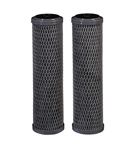 Filtrete Standard Capacity Whole House Carbon Wrap Water Filters, Reduces Chlorine Taste & Odor and Sediment,...