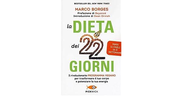 dieta marco borges di 22 giorni