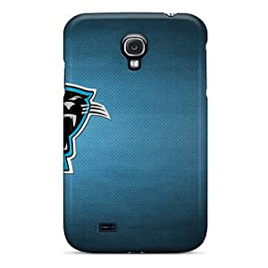 Fashion Protective Carolina Panthers Case Cover For Galaxy S4