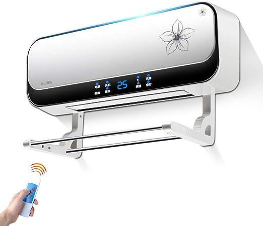 Radiador eléctrico MAHZONG Calentador de Pared 2kW Temporizador de 8 Horas con termostato, Caja Fuerte de baño, Ahorro de energía: Amazon.es: Hogar