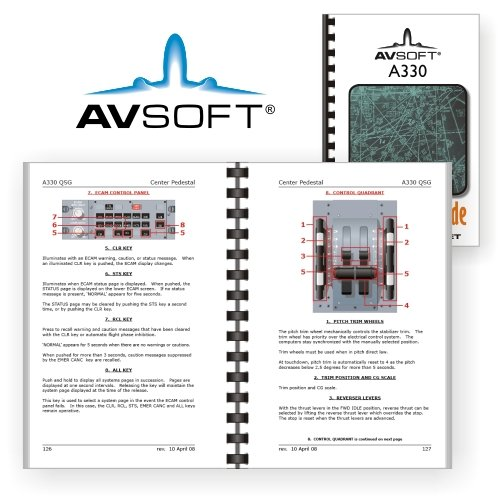 airbus a330 qsg quick study guides airbus avsoft international rh amazon com Quick Guide Template Quick Reference Guide