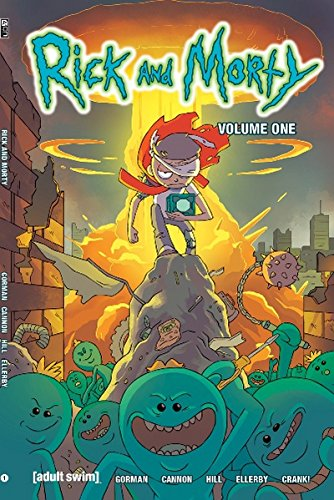 Rick and Morty Volume 1 Exclusive Variant Cover - Exclusive Variant Cover