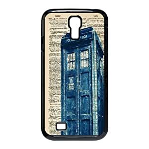 New Tardis Doctor Who Police Box Hard Plastic phone Case Cover+Free keys stand For SamSung Galaxy S4 Case XFZ430731