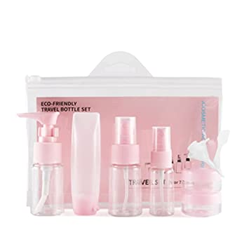 1ad32d92a2a9 Amazon.com : BPA Free Travel Bottle Sets YYF 9 Pcs Spray Leakproof ...