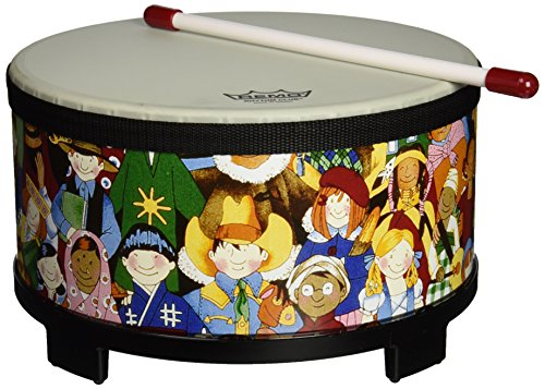 Remo RH-5010-00 Rhythm Club Floor Tom Drum - Rhythm Kids, 10