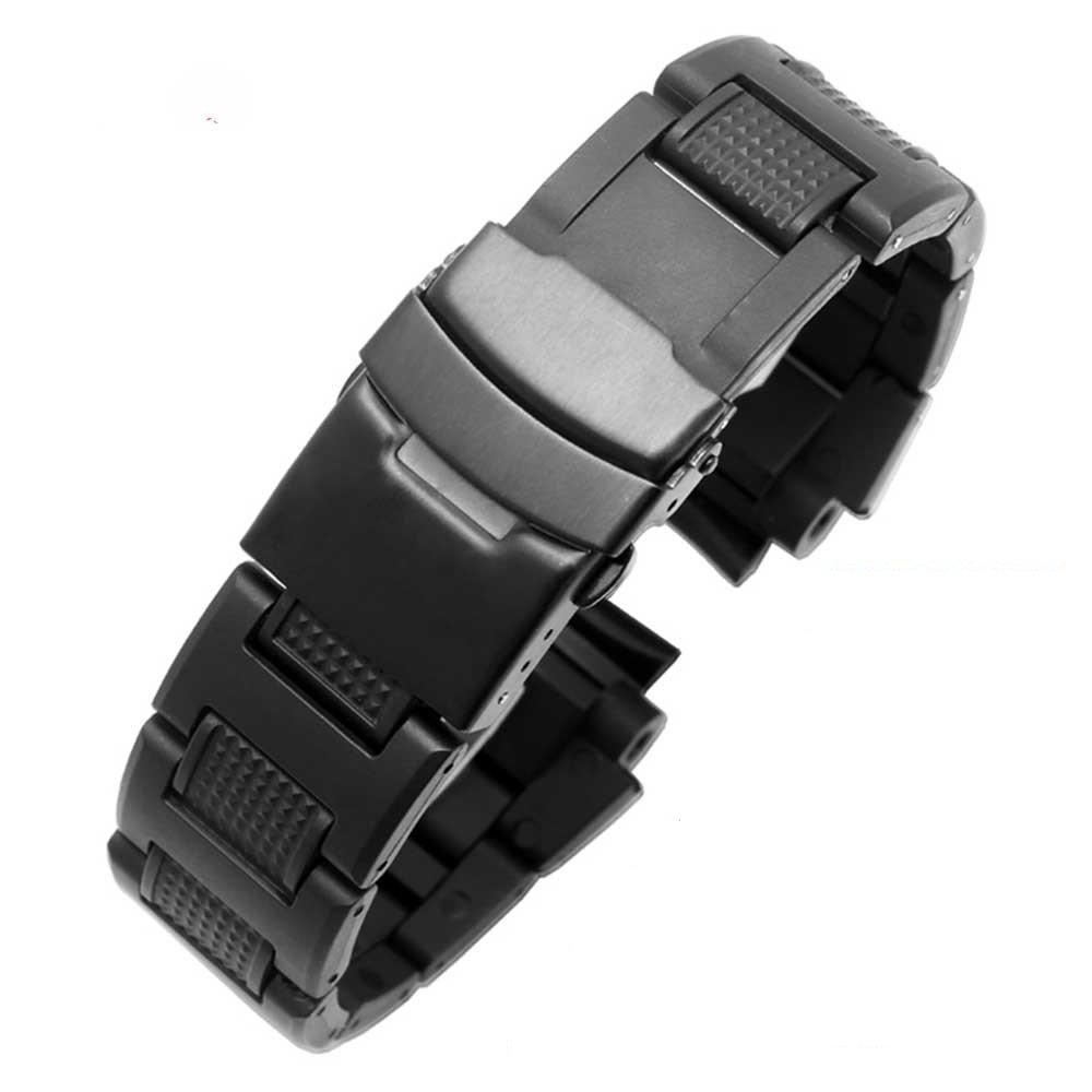 zhuolei 27 mmプラスチックコンポジットウォッチバンドストラップフィットfor Casio gw-a1100 ga1400 B075ZTJ3PV