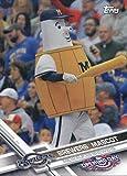 2017 Topps Opening Day Mascots #M-25 Brewers Mascot Milwaukee Brewers Baseball Card