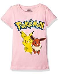 Pokemon Girls' Short Sleeve Princess Tee