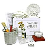 Grow and Make DIY Complete Cheese Making Kit - Learn how to make Mozzarella, Ricotta, Colby, Gouda, and Monterey Jack!