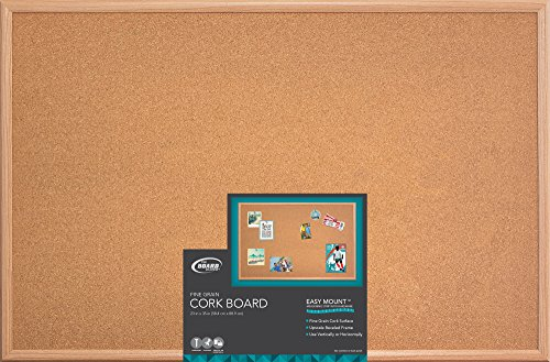 Wood Frame Cork Board - Board Dudes 23