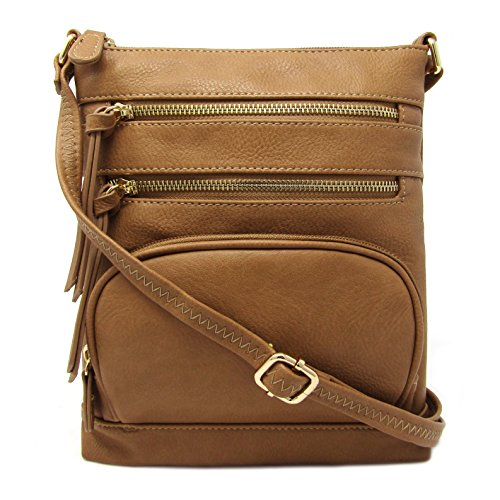 Bag Crossbody Stone Purse Leather Faux Pocket Multi Solene v4IRqYW