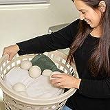Wool Dryer Balls Organic XL 6-Pack by