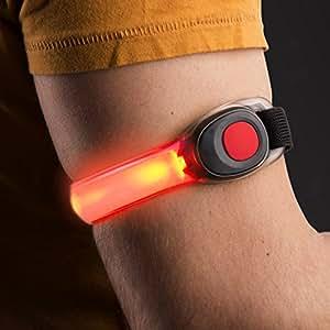 dmail-fascia de señalización para brazo, roja