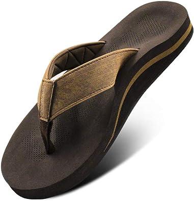 Men Sandals Flip Flop with Orthotic