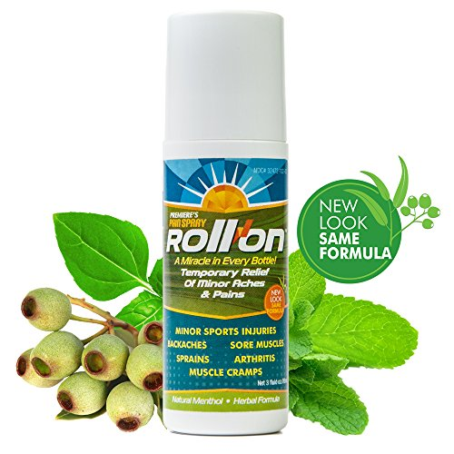 Premieres Pain Spray Roll-On (Liquid-Gel Pain Relief Therapy) Arthritis Pain Relief, Carpal Tunnel Medicine, Fibromyalgia Pain Relief, Rolls On, Dries Fast, Safe to Combine with Other Drugs