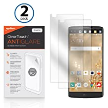 LG V10 Screen Protector, BoxWave® [ClearTouch Anti-Glare (2-Pack)] Anti-Fingerprint Matte Film Skin for LG V10