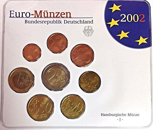 DE 2002 Germany 2002 Official Euro Coins Set Special Edit Good