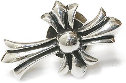 [해외]안녕 조 안녕 조 크로스 십자가 골드 안녕 조 실버 925 안녕 조 지갑 지갑 남성용 (나사식) / Concho Concho Cross Gold Concho Silver 925 Concho Wallet Wallet Men `s (Screw Type)