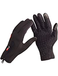 Moistureproof Outdoor Cycling Ski Winter Cold Weather Gloves Finger Gloves for Adult & Teens