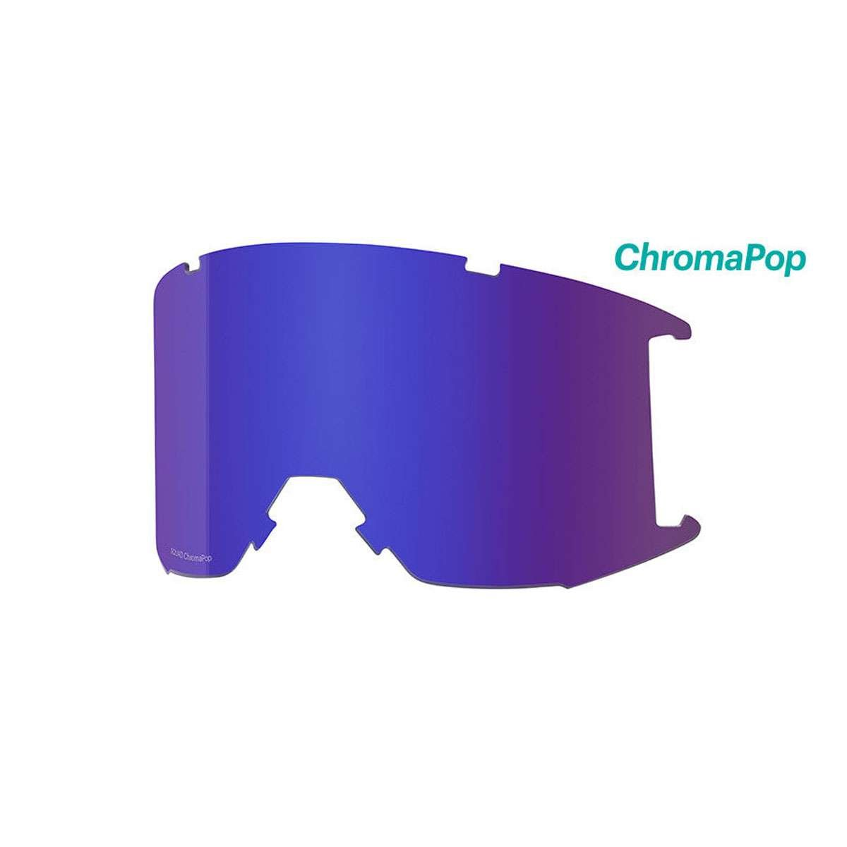 スミスSquad交換用レンズ B075R3PCZW  CHROMAPOP EVERYDAY VIOLET MIRROR