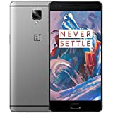 OnePlus 3 64gb A3000 Dual Sim 5.5 4G LTE Android 6.0 Snapdragon 820 Factory Unlocked Graphite - No Warranty