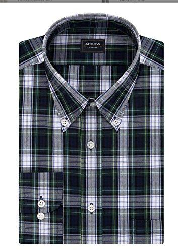 Arrow Men Wrinkle Free Poplin Dress Shirt L 16 – 16.5 36/37