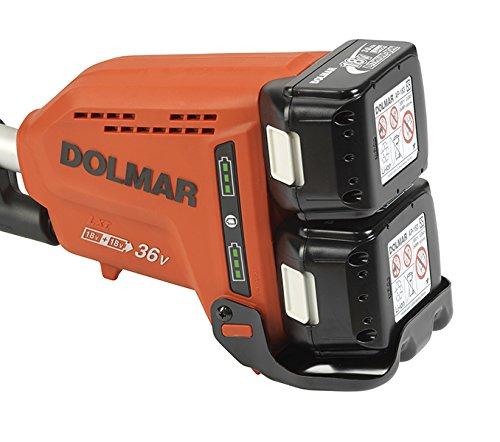 Dolmar AT3735C Cordless Grass Trimmer 2 x 18 V ohne Akku und Ladegerät 36 V Makita