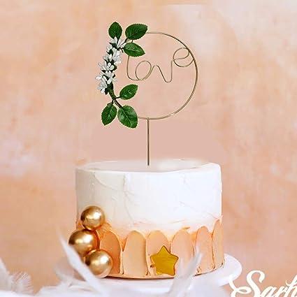 Buy Amfin Valentines Cake Topper Valentines Day Cake Topper Cake