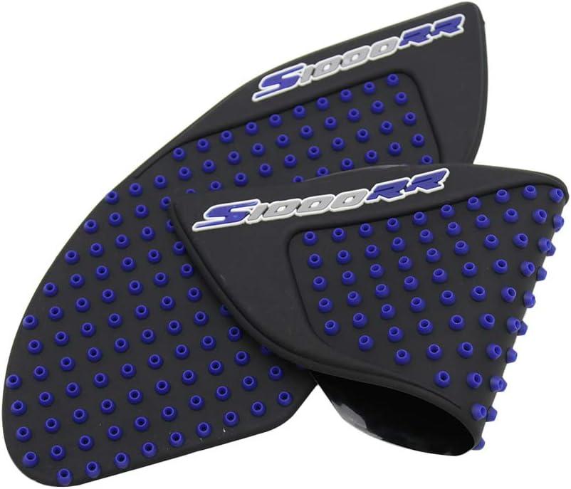 Fesjoy Moto anti glissement r/éservoir pad autocollant genou grip traction lat/éraux pad fit pour BMW S1000RR 2010-2015 Autocollant de r/éservoir
