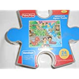 Fisher-price Adventure Puzzle Little People Storage Container - Dinosaur Cove