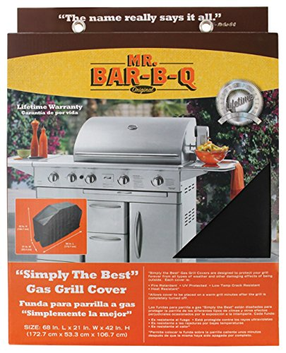 Mr. Bar-B-Q Platinum Prestige Large Grill Cover, 68 by 21 by 42 inches
