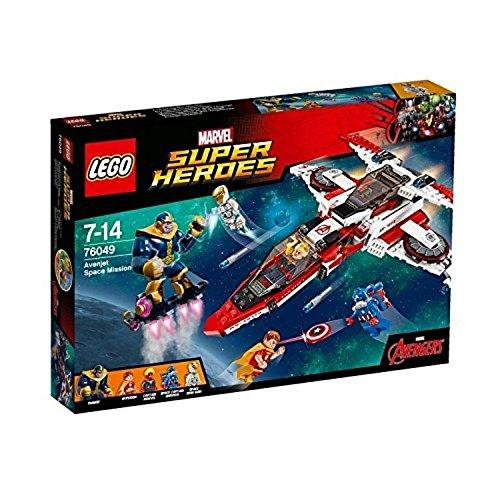 レゴ (LEGO) スーパーヒーローズ アベンジェット スペースミッション 76049   B013GY9D36