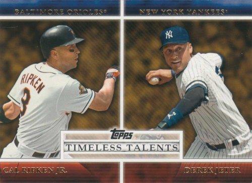 2012 Topps Baseball Timeless Talents 25 Card Insert Set with Jeter, Ripken Plus Complete M (Mint) (Tt1 Series)