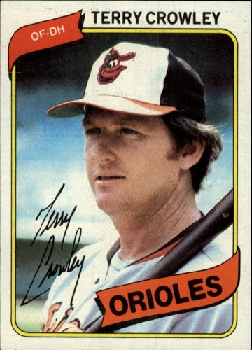 1980 Topps #188 Terry Crowley Card