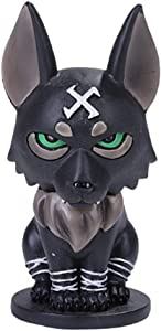 SUMMIT COLLECTION Norsies Fenrir The Monstrous Black Wolf Cute Norse Mythology Collectible Figurine
